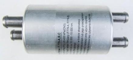 Drooggasfilter 2x11-2x11 (2xIngang-2xUitgang)
