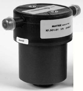 Drooggasfilter Matrix XF.301.01  180°