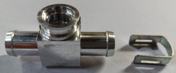 T-stuk voor HANA injectoren dia - 12mm