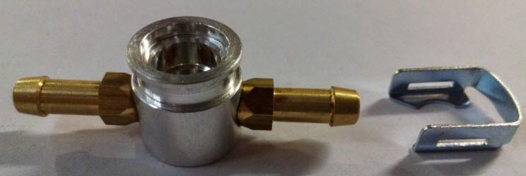 T-stuk voor HANA injectoren - 6mm/6mm