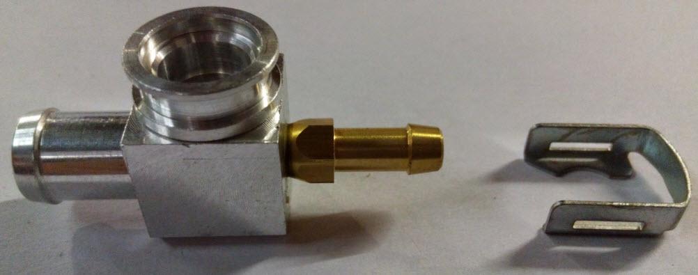 T-stuk voor HANA injectoren - 12mm/6mm