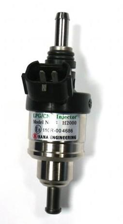 Hana injector H2001 GOLD (41-50 HP/cyl) (met slangaansluiting voor in- en uitgang)