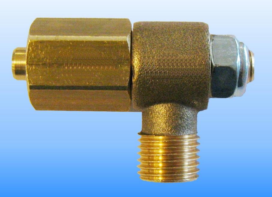 Drehbares Winkelstück Einlass 90° für Multiventil Tomasetto