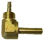 OMB Anschlussst. 90° 6 mm für Plastikleitung