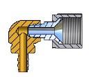 Plug pour 6mm 90° (réservoir à 4-trous)