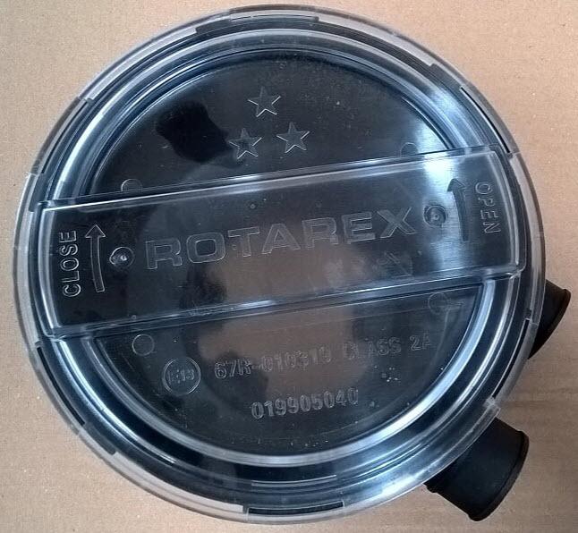 Couvercle pour Polyvanne Rotarex Rés. cyl. pour polyvanne type A615 (019905040) E13-67R01-010319