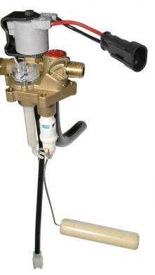 Polyvanne Rotarex, RING H= 200, 30°, connexion de remplissage pour tuyau en cuivre; incl. émetteur, 0-90 ohm