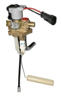 Polyvanne Rotarex, RING 270, 30° , connexion de remplissage pour tuyau en cuivre, émetteur incl. 0-90 ohm