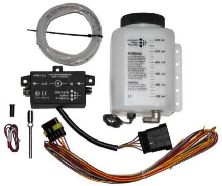 Valve Protector Light / elektronische kit met sput-in collector (40295)